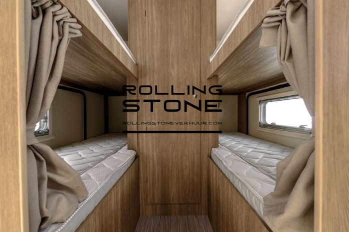 Rolling Stone mobilhome verhuur binnenkant